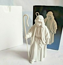 Vintage Avon Nativity Collectibles The Shepherd Porcelain Figurine 1983 - $14.84