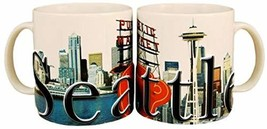 Americaware SMSEA01 Seattle 18 oz Full Color Relief Mug - $27.29