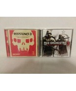 RESISTANCE 3 + RED ORCHESTRA 2 - 2 VIDEO GAME SOUNDTRACK CDs - FREE SHIP... - $28.05