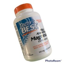 Doctors Best High Absorption Magnesium 100% Chelated 100mg 240 Tabs Exp ... - $22.51