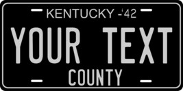 Kentucky 1942 License Plate Personalized Custom Car Auto Bike Motorcycle... - $10.99+