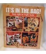 It's in the Bag Leisure Arts 1997 gift bag cookbook craft memories in th... - $11.64