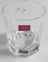 Cris D'Arques Vintage Antique Clear Short Solid Crystal Glass Tumbler wi... - $24.99