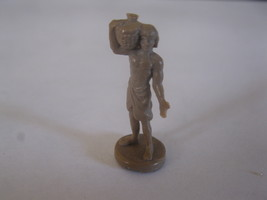 2003 Age of Mythology Board Game Piece: .Egyptian Villager Unit - Brown - $1.00