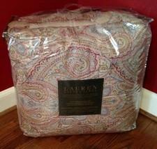 New Ralph Lauren Fenton Paisley 3 Piece Queen Comforter Set - $99.00