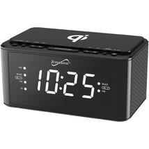 Supersonic SC-6030QI-BK Clock Radio with Qi Wireless Charging Station (B... - €49,43 EUR