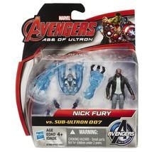 Nick Fury vs SUB-ULTRON 007, Marvel Avengers Age of Ultron Figure Pack - $6.88