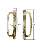 Sash Controls Mortise Style Patio Handle, B-Position, Keyed, Brass - $59.35
