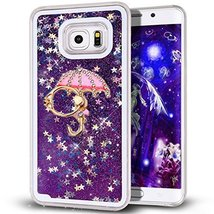 Case for Galaxy Note 8,Rotating Kickstand Design Dynamic Liquid Glitter ... - $9.89
