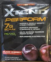 Scivation XTEND Perform BCAA Powder 15 Serve Pouches Black Cherry PAST D... - $10.39