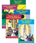 Lives of the Saints by Mary Fabyan Windeat (Set of 5) - $50.95