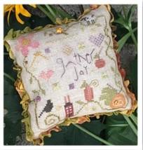 Gather Joy Pincushion Kit autumn fall cross stitch kit Shepherd's Bush     - $20.00