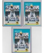 1987 Fleer #605 Bobby Bonilla  Lot of 3 - $1.89