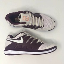 Nike Women Sz 7.5 Air Zoom Vapor X HC WMNS Bordeaux Wht Tennis Shoes AA8... - $87.99