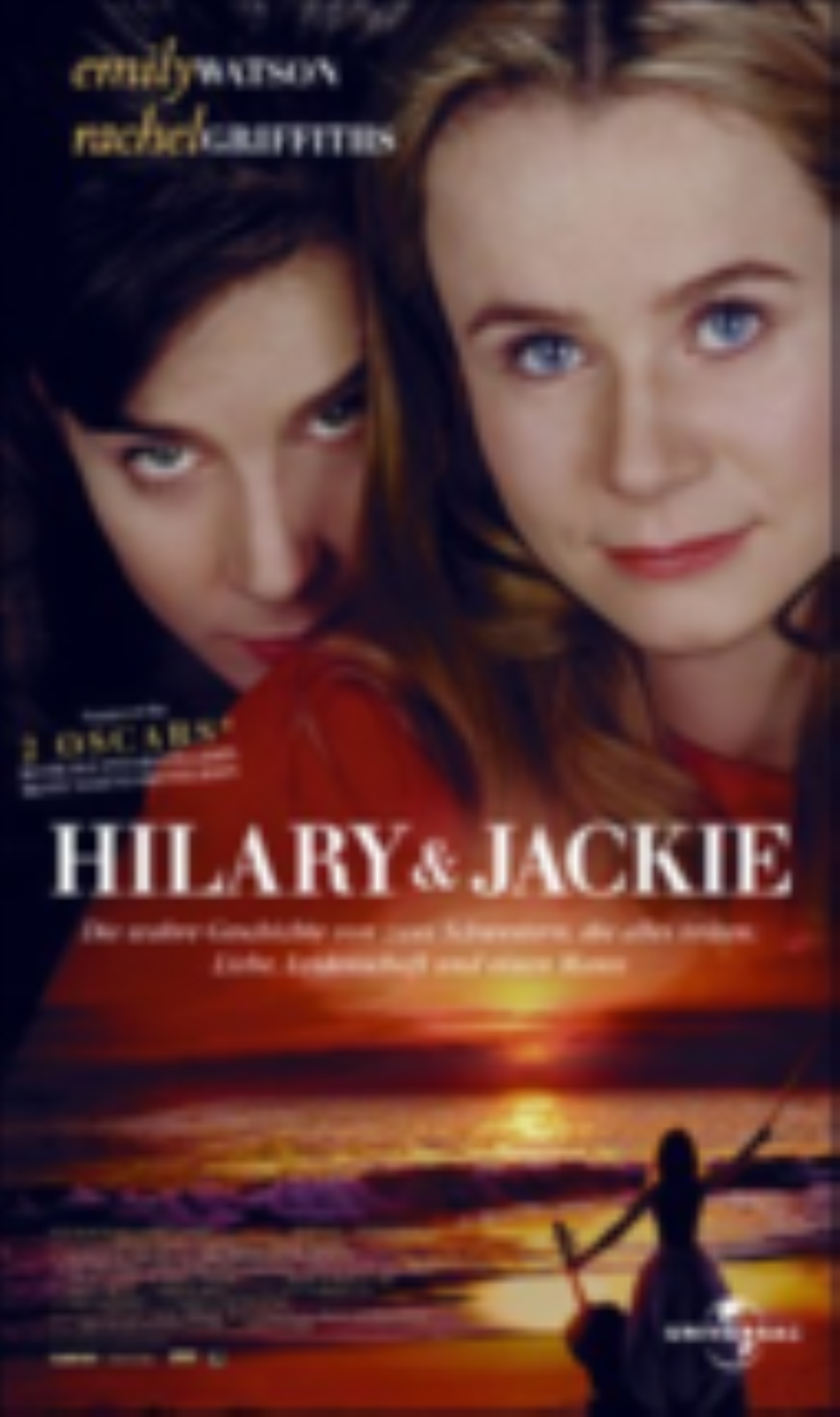 Hilary and Jackie  Vhs