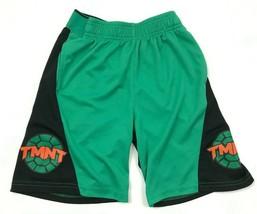 Nickelodeon TMNT Shorts Youth Size 6 / 7 Boys Green Teenage Mutant Ninja Turtles - $14.03