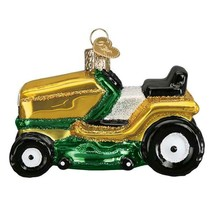 Riding Lawn Mower Christmas Holiday Ornament - $43.76