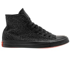 Converse CTAS Hi Black Red 156445C 23rd Anniversary Shoe Palace Womens - $64.95