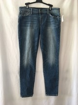 Joe's Jeans Rolled Skinny Crop  31 Whiskers Frayed Hem Women's Stretch J... - $51.38