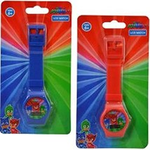 PJ Masks Digital Watch on Blister Card 2 Colors Asstd - $13.07
