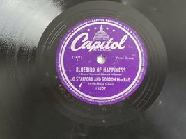 Jo Stafford Gordon MacRae Bluebird of Happiness / Sweetheart Record E 78... - $9.85