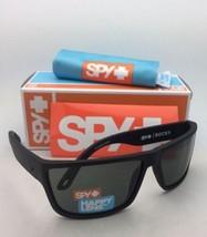 New SPY OPTIC Sunglasses ROCKY Matte Black Frames with Happy Grey-Green Lenses