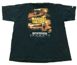 Barrera Marquez Fight Shirt Size Extra Large XL Black Tee Featherweight ... - $32.08