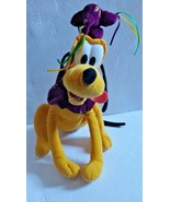 "Toy Factory Disney Mardi Gras Pluto Dog 13"" Stuffed Plush Toy - $16.49"