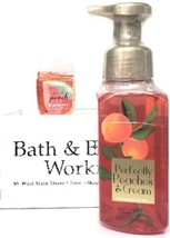 Bath and Body Works Perfectly Peaches & Cream Hand Soap & PocketBac Reti... - $20.22