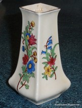 RARE ROYAL DOULTON D5497A ANTIQUE FLORAL VASE - Great Collectible Gift! - $73.71