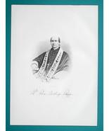 REV LOUIS A. RAPPE Ohio 1st Bishop of Cleveland - 1883 Superb Portrait P... - $19.80