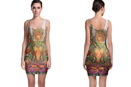 JOEY PANG Tattoo artwork Bodycon Dress - $19.80+