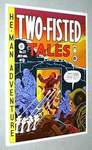 Original vintage EC Comics Two-Fisted Tales 22 US Army war cover poster: 1970's - $29.99