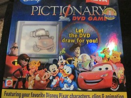 WDW Disney Pictionary DVD Game featuring your favorite Disney Pixar Char... - $19.99