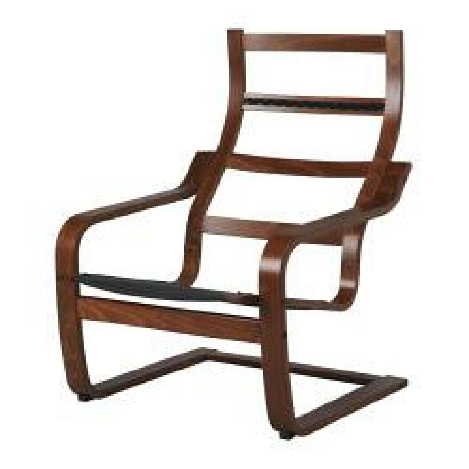 IKEA POANG Armchair Frame, Medium Brown, 400.239.43 - NEW ...
