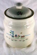 "International China Heartland Flour Canister #7774 8"" - $13.85"