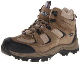 Nevados Women's Boomerang II Mid V1082W Hiking Boot,Dark Brown/Black/Light Purpl