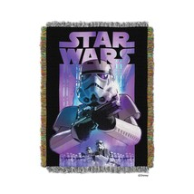 """The Northwest Company Lucas' Star Wars """"Storm Ahead"""" Tapestry Throw Blan... - $42.67"""