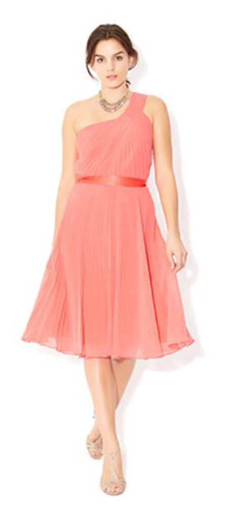 MONSOON Freya Coral Dress BNWT image 1