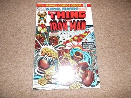 AUTOGRAPHED JIM STARLIN * MARVEL FANFARE # 12 * THANOS / THING & IRON MA... - $175.00