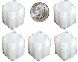 10 Pack Square Tubes, Large Dollar Size Ike Peace Morgan FREE Shipping C... - $12.95