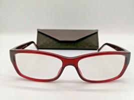 Gucci GG 3573 Women's Eyeglasses Frame, E67 Burgundy Red. 52-17-135 Ital... - $84.15