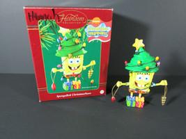 2003 SpongeBob Christmas Pants Ornament - Carlton Cards - 130 - In Box - $8.90