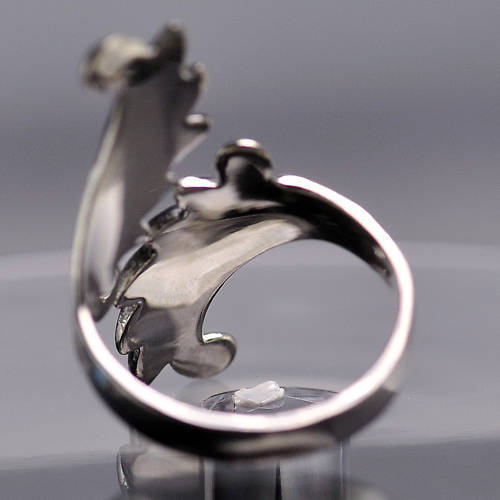 Saint Michael the Archangel Wings Ring Sterling Silver .925 jewelry