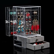 BiuTee Jewelry Box for Women Jewelry Organizer Necklace Earrings & Brace... - $23.68