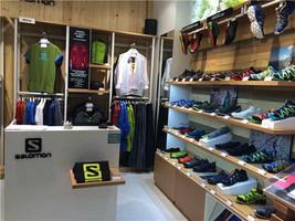 Men's Black Salomon Speed Style Sneakers Outdoor Sports Shoes Ship Worldwide - $99.00