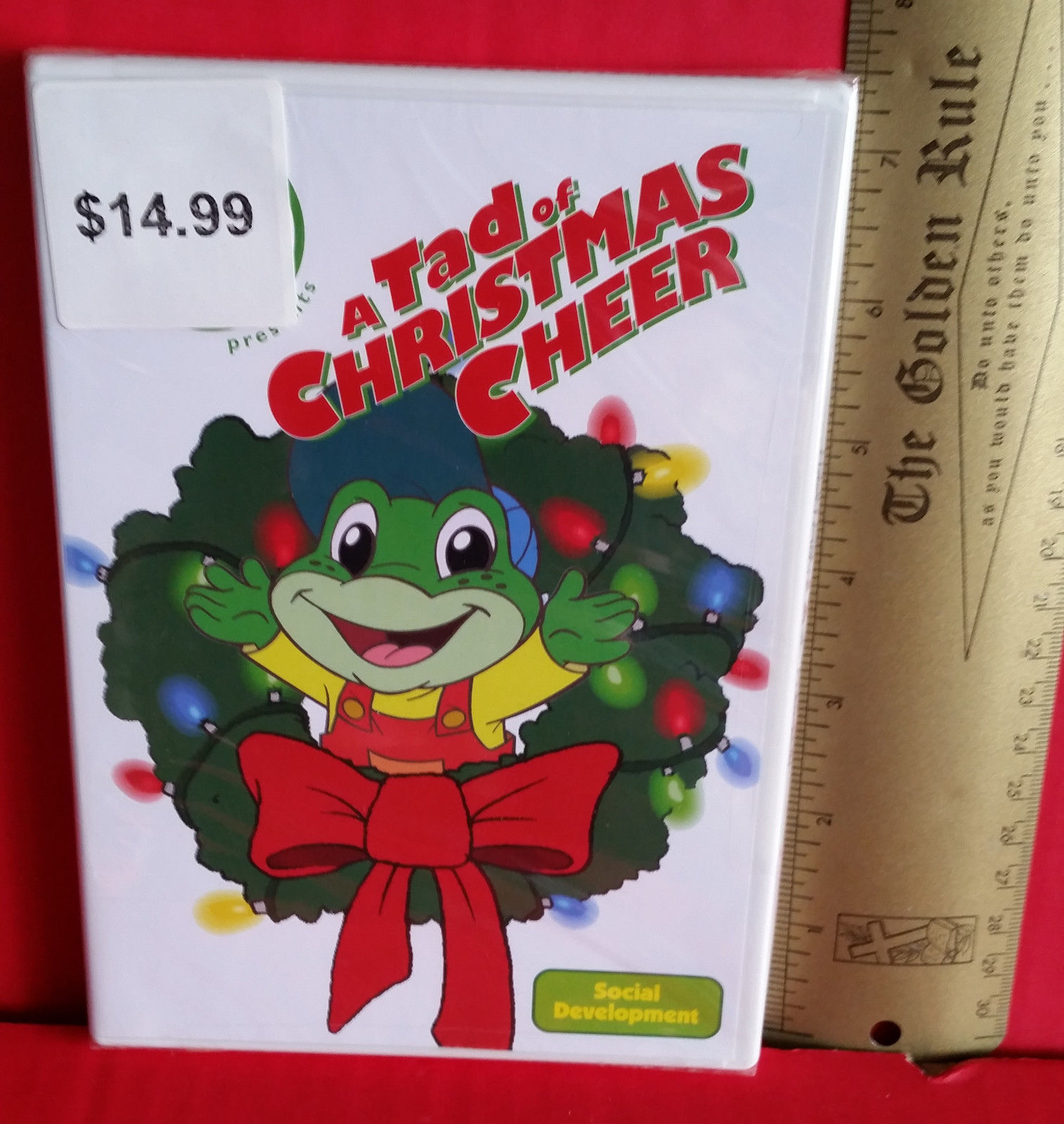 Education Holiday Video DVD A Tad Of Christmas Cheer Leap Frog Sing-A-Long Songs - $14.24