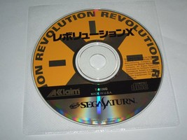 SS Revolution X (Condition: Case, no instruction manual Game disk Sega only) - $57.65