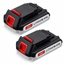 FirstPower LBXR20 3.6Ah 2Packs - Compatible with Black & Decker 20V Battery - $54.94