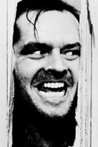 "Jack Nicholson In The Shining iconic ""Here's Johnny"" 18x24 Poster - $23.99"